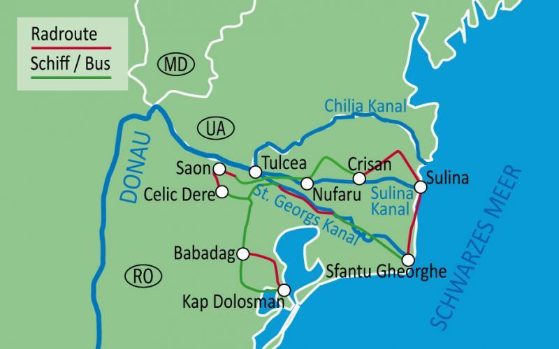 Boat And Bike Tour Danube Delta